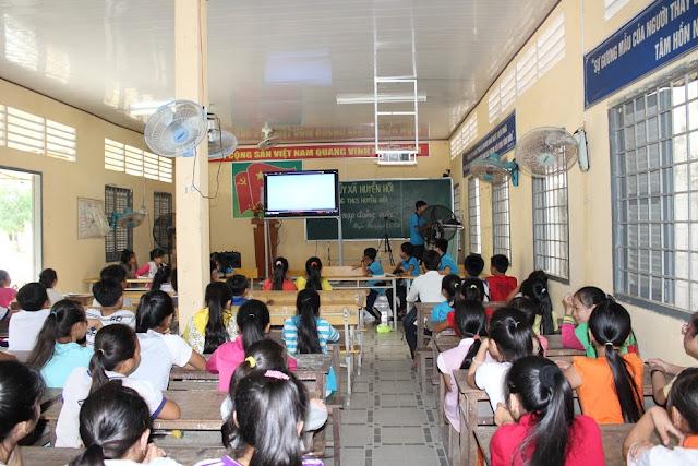 Hoạt động phổ biến kiến thức của CLB rất bổ ích, tạo sân chơi lành mạnh cho các bạn học sinh trong kì nghỉ hè.