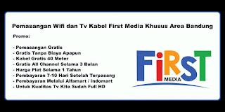 Promo first media bandung