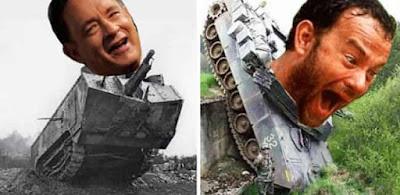 Typo Tom Hanks jadi Tom Tanks