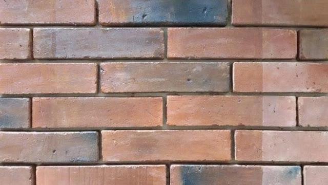 wallpaper dinding bata merah
