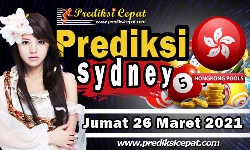 Prediksi Sydney 26 Maret 2021