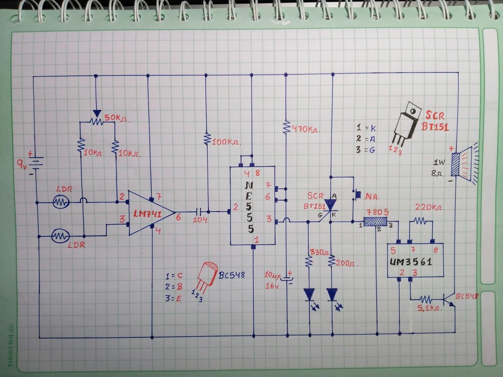 Circuito Ldr : Ldr fotossensível kit eletrônicos suíte circuito integrado r