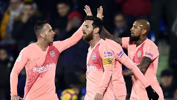 «Барселона» обыграла «Хетафе» в матче Примеры