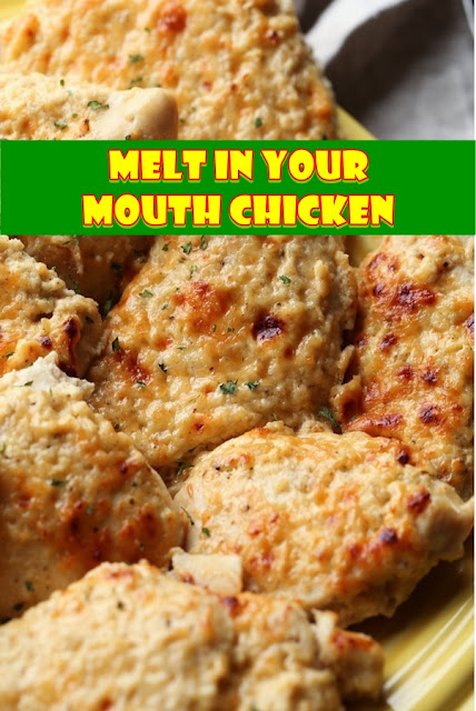 #This #easy #chicken #recipe #is #a #MUST #TRY! #Melt #In #Your #Mouth #Chicken