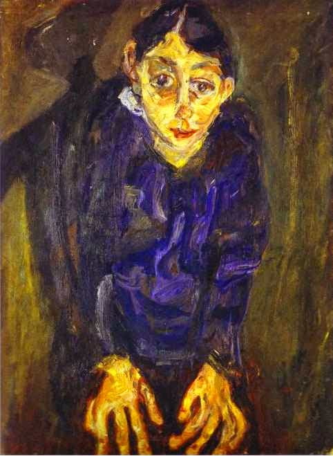 A Mulher Louca - Chaïm Soutine e seu expressionismo violento e atormentado