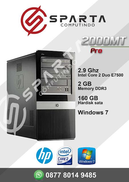 PC Hp Second Berkualitas Harga Terjangkau RAM 2 GB