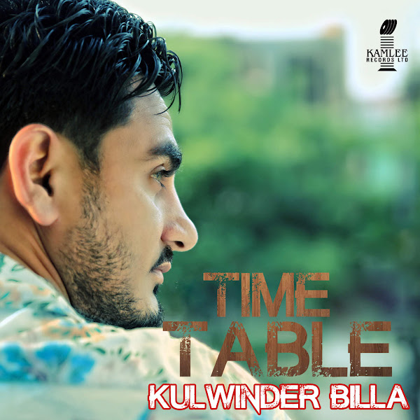 Kulwinder Billa - Time Table - Single Cover