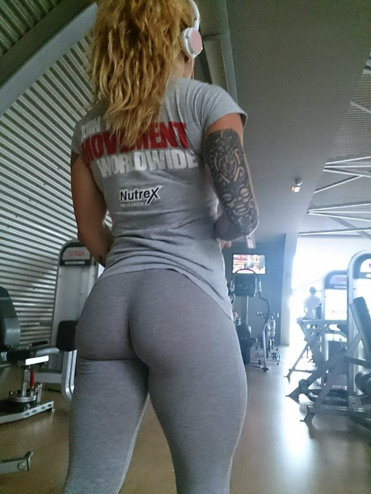 Girls in gym butt naked valuable