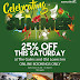 25% OFF This Saturday - Book Now!