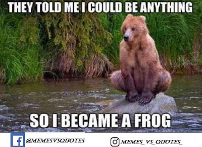 I become a frog