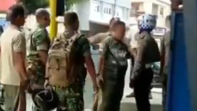 Anak Komandan Kena Tilang, Anggota TNI Todongkan Pistol ke Polisi