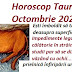 Horoscop Taur Octombrie 2020