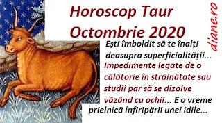 Horoscop Octombrie 2020 Taur