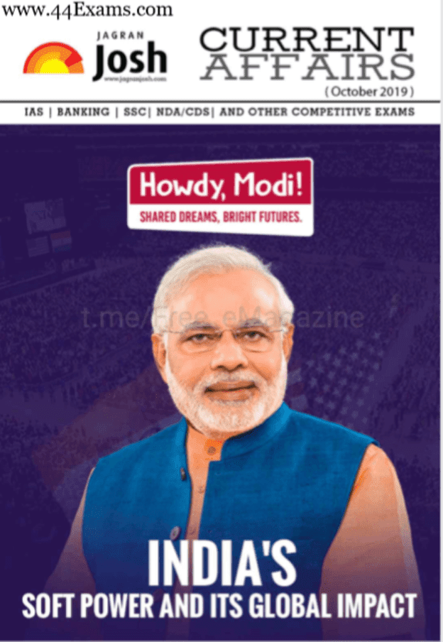 Jagran-Josh-Current-Affairs-October-2019-For-All-Competitive-Exam-PDF-Book