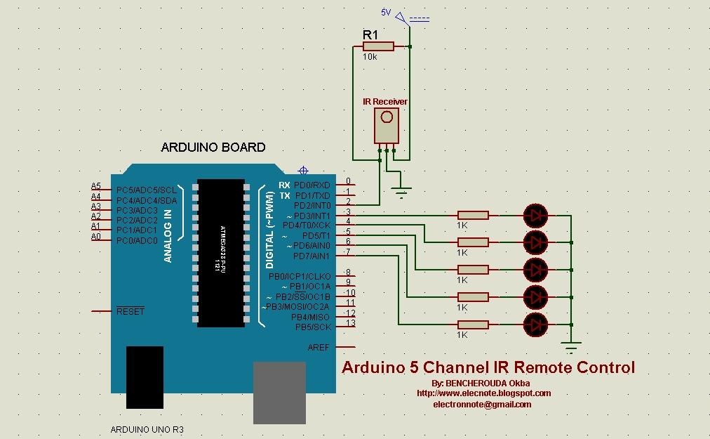 Circuitstodaycomsimple Ir Audio Link Electronic Circuits And