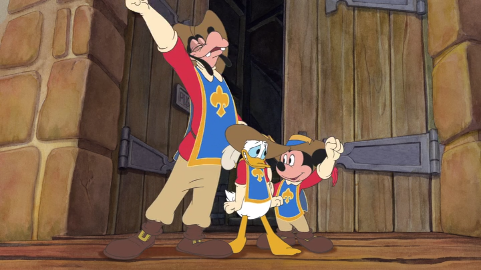 Aom Movies Et Al Mickey Donald Goofy The Three Musketeers 2004