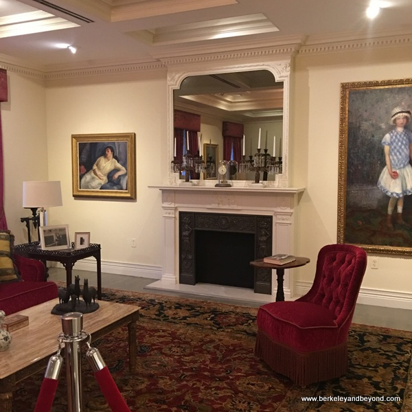 the parlor of William J. Glackens, at NSU Art Museum in Fort Lauderdale, Florida