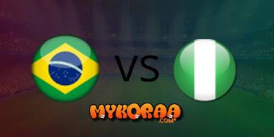 بث مباشر وحصري للمباراة الودية الدولية بين منتخبين البرازيل و نيجيريا 13/10/2019