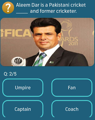 Aleem Dar is a Pakistani cricket and former cricketer