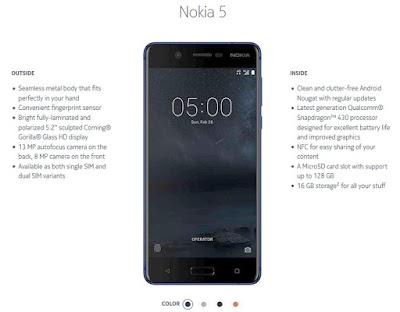 Nokia 5 Manual PDF with Tutorial