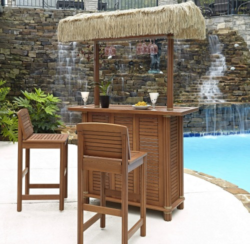 beach tiki bar ideas for the home backyard coastal