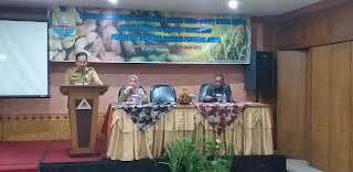 Sekretaris Dinas TPHP Buka Rakor Penyusunan Angka Tetap Tahun 2018 Dan Angka Ramalan I Tahun 2019 Produksi Tanaman Pangan Provinsi Jambi.
