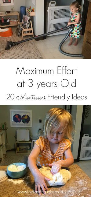 20 purposeful and engaging ways for 3-year-olds to exert maximum effort and do heavy work.