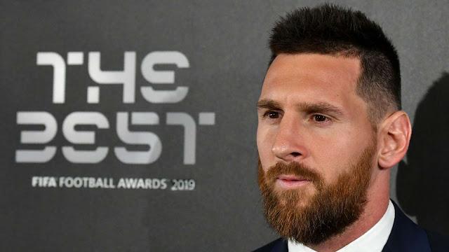 Messi named Best FIFA Men's Player ahead of Van Dijk and Ronaldo