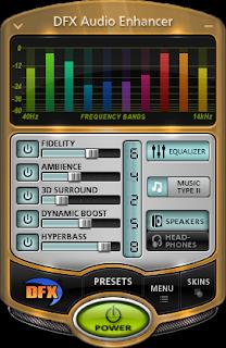 تثبيت و تفعيل أفضل برنامج لتحسين و رفع صوت الحاسوب DFX Audio Enhancerv 12.023