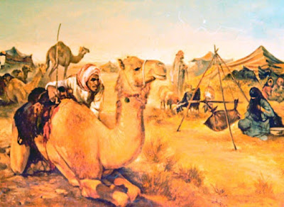 A painting by Gamal Kotb