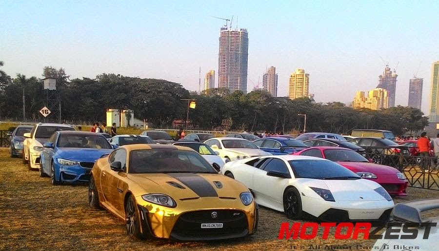 supercars at 2015 Parx Super Car Show in Mumbai
