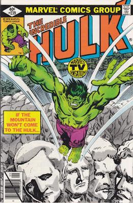 Incredible Hulk #239, Mount Rushmore