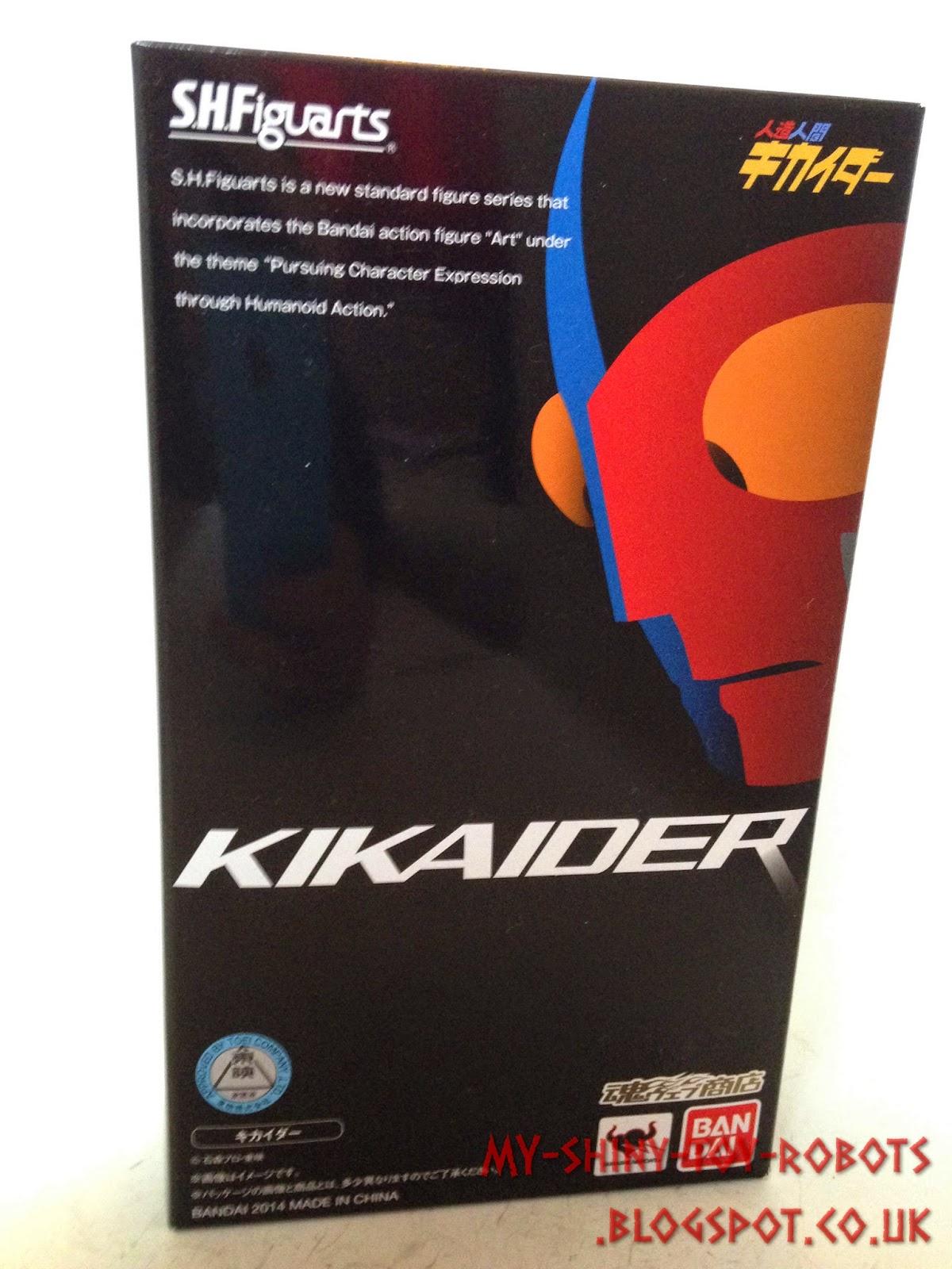 Kikaider box front