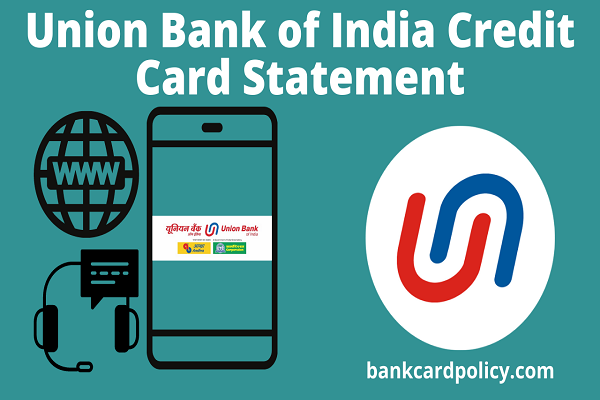 Union Bank of India Credit Card Statement