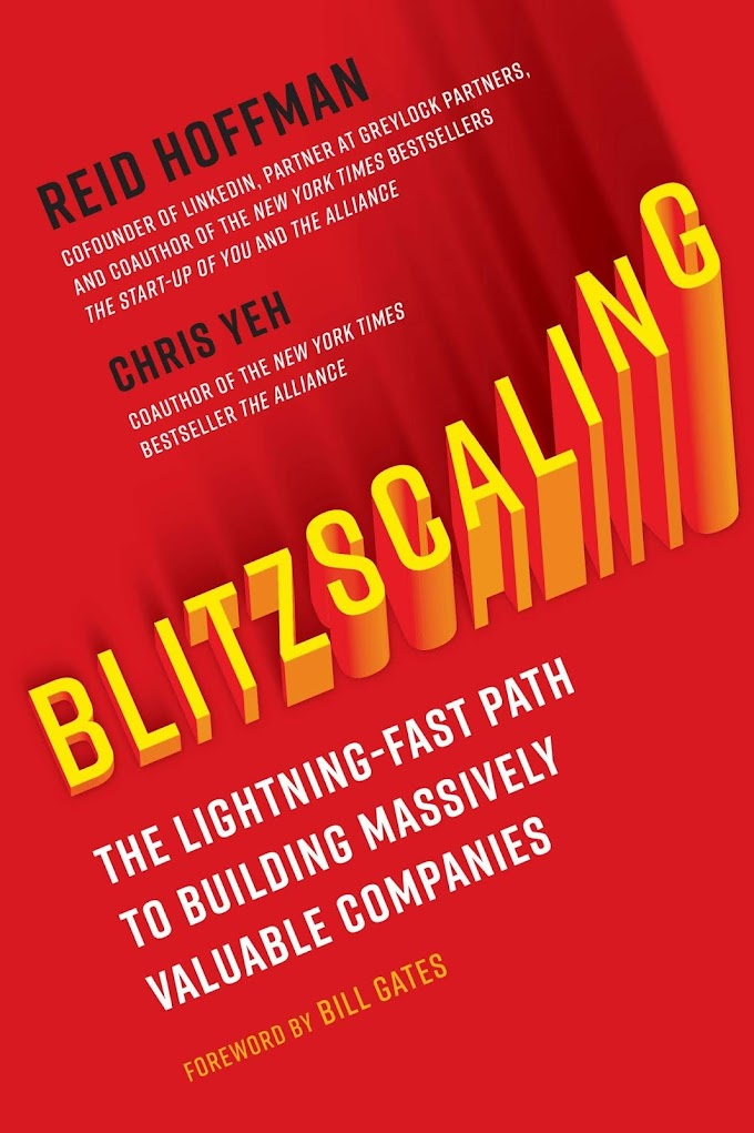 Blitzscaling by Reid Hoffman and Chris Yeh Ebook Download