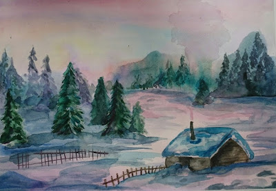 Эвелина Васильева. Зима