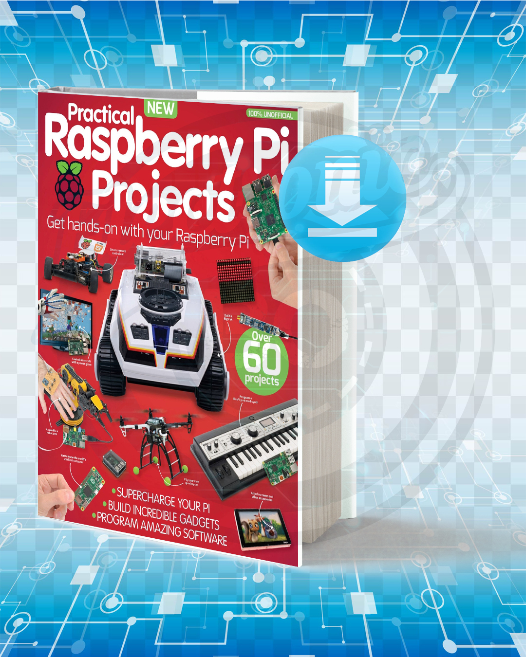 Free Book Practical Raspberry Pi Projects pdf.