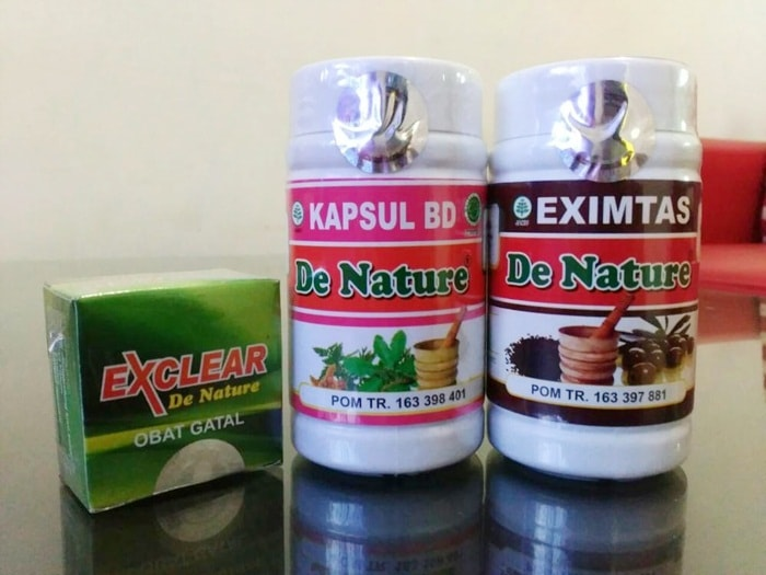 Obat Dermatitis Herbal de Nature