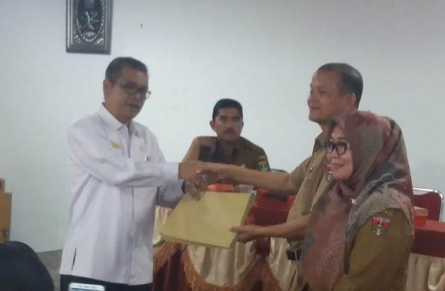 Ratusan Mahasiswa PKL UNP Diserahkan ke Dikbud Kota Bukittinggi