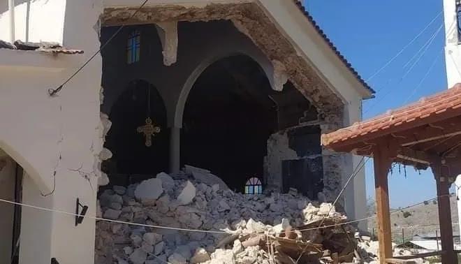 Σεισμός στην Ελασσόνα: Απεγκλωβίστηκαν 6 άτομα σε Μεσοχώρι και Μαγούλα