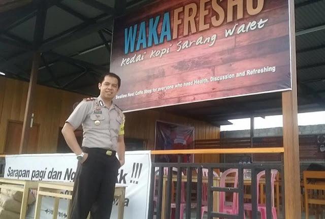Salut, Wakapolres Ini Pilih Jualan Kopi Ketimbang Nikmati Kredit Ribawi