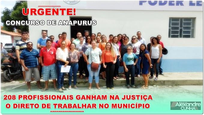 Urgente! STJ nega liminar em favor da Prefeitura de Anapurus, sobre o concurso de 2016.