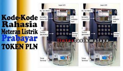 Kumpulan Kode Rahasia Meteran Listrik Pulsa Prabayar (TOKEN)