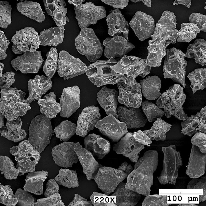 Microscopic look at ash particles