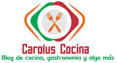 Carolus Cocina - Blog de cocina y gastronomía