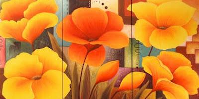 Dibujos De Flores Para Pintar Al Oleo Paisajes Cuadros De Paisajes