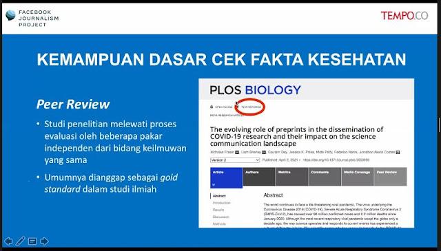 studi peer review dan pre print