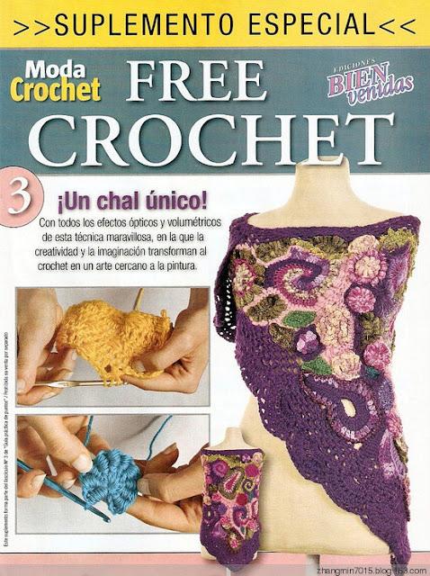 Tecnica Tutorial Dibujos Aplique Crochet