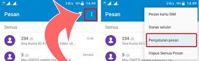 Cara Mengaktifkan Laporan Pengiriman SMS di HP Android 1