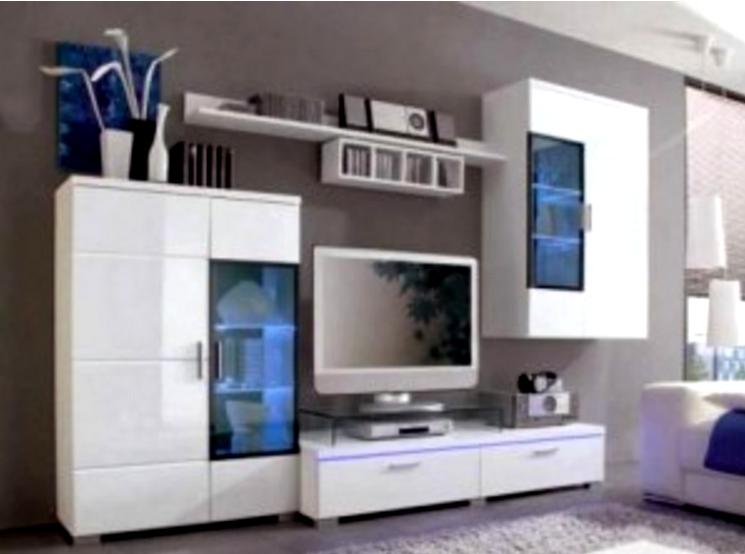 Contoh Dekorasi Ruang Tamu Dengan Rak Tv Minimalis